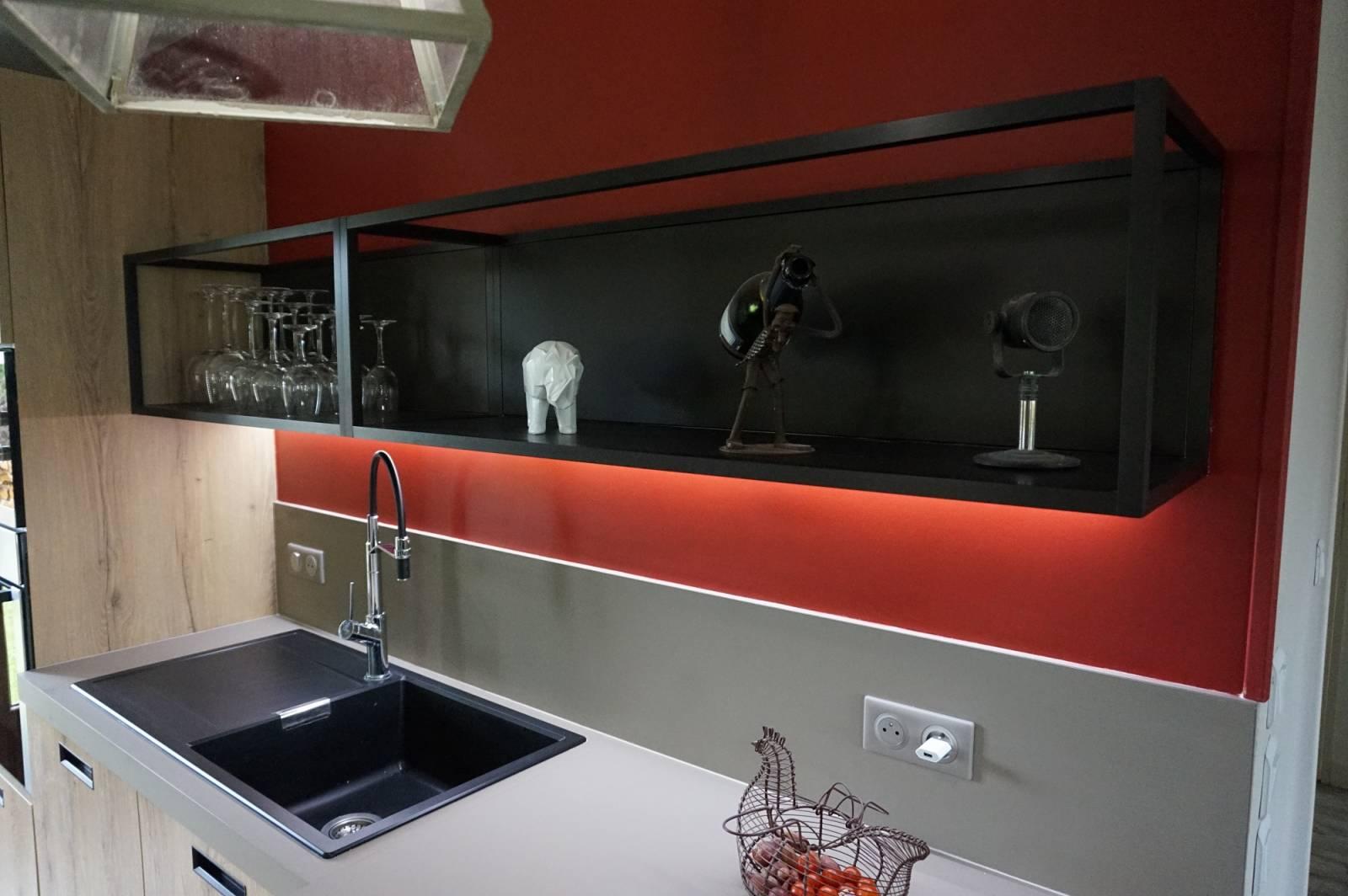 vente et pose cuisine ouverte le havre odyss e. Black Bedroom Furniture Sets. Home Design Ideas