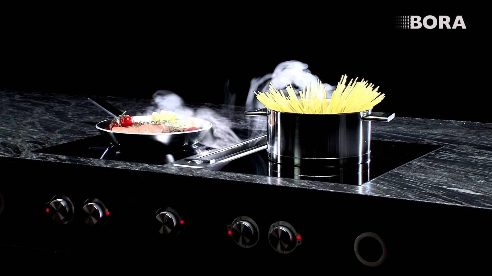 Hotte d aspiration cuisine hotte de cuisine d angle personal by elica design center elica 2 - Hotte bora prix ...